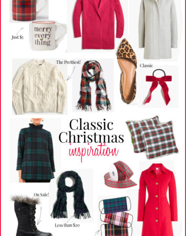 Classic Christmas inspiration, fashion and decor
