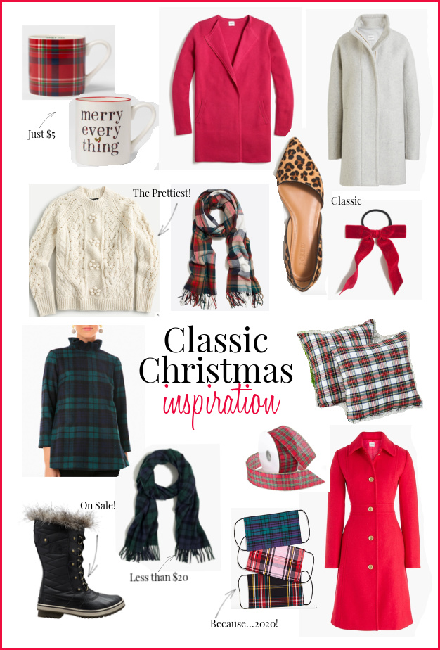Classic Christmas inspiration, fashion and decor