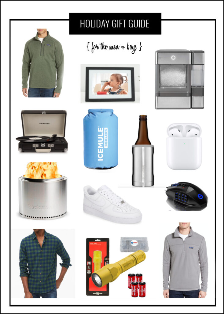 Gift ideas for men and boys for the holidays.