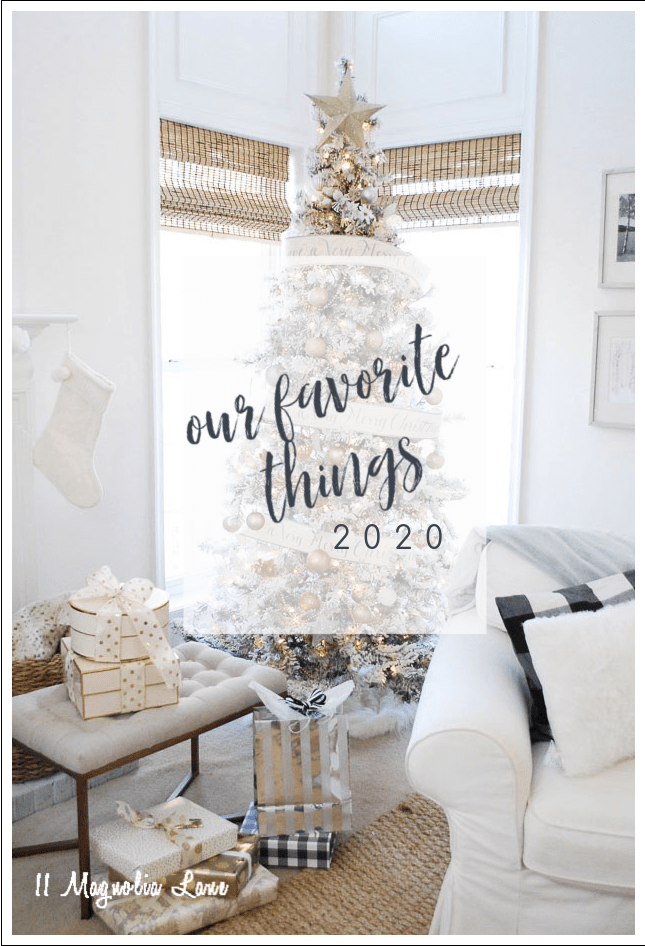 A collection of favorite items for Christmas