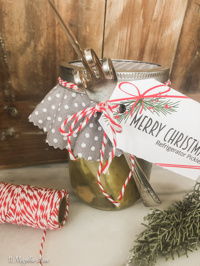 Easy Holiday Gift: DIY Pickle Forks With Printable Tags