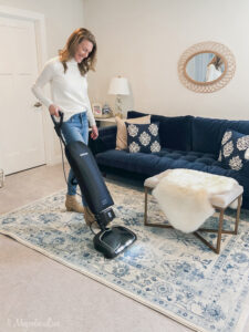 Deep Cleaning our Floors with the Oreck Elevate Cordless Vacuum