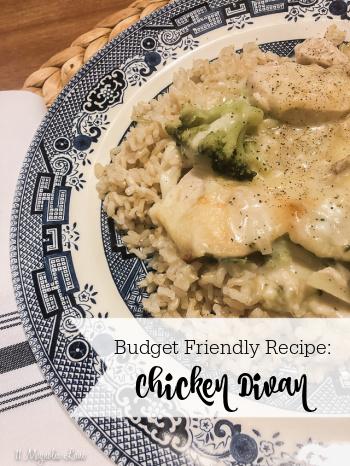 Budget Friendly Recipe: Chicken Divan