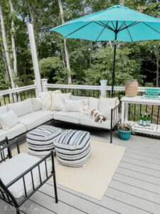Our Refreshed Summer Outdoor Space