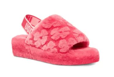 Fluff Yeah Ugg Slingback Sandals