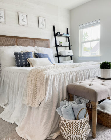 Summer Coastal Inspired Guest Room from Walmart Home
