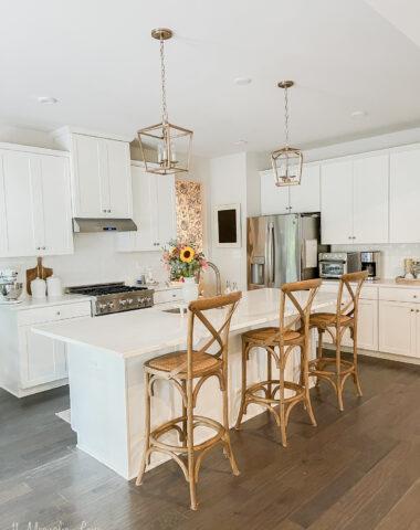 quartz countertops kitchen makeover details