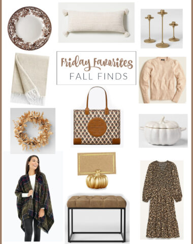 Fall and holiday favorite finds