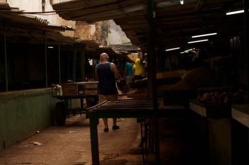 Fruits & veg market, Habana Vieja Photograph: Georgia Korossi/11polaroids