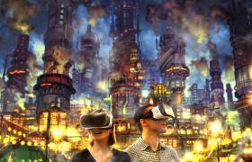 アソビル内に期間限定で誕生するえんとつ町のプペル VRのイメージ写真