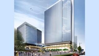 (仮称)みなとみらい21中央地区53街区開発事業の外観イメージ