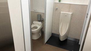 石川町駅「西の橋」公衆トイレ