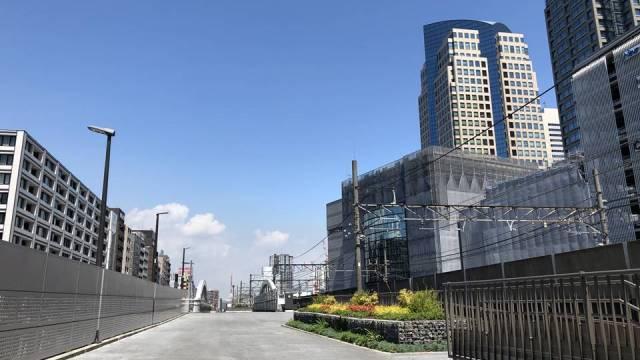 019年7月16日から供用開始した東横線跡地の写真