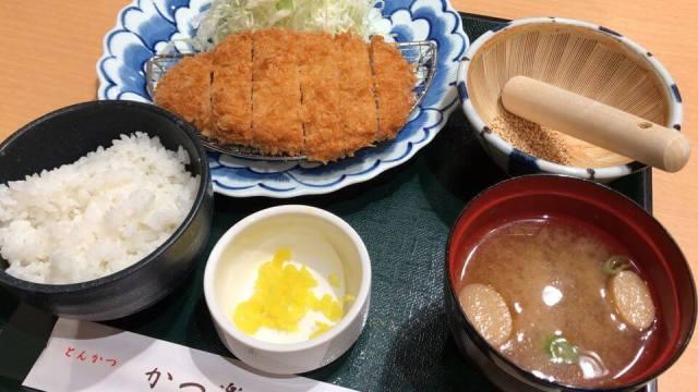 とんかつ かつ楽、横浜店のメニュー写真