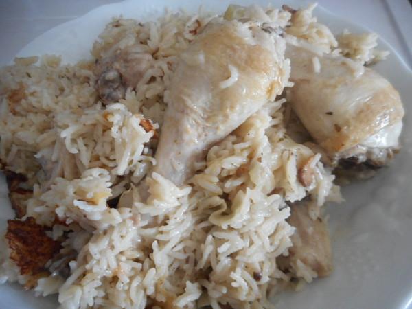 pilons de poulet et riz au cookeo