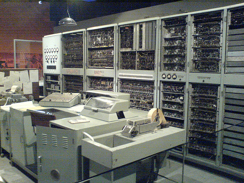 Later version of the CSIRAC at The University of Melbourne