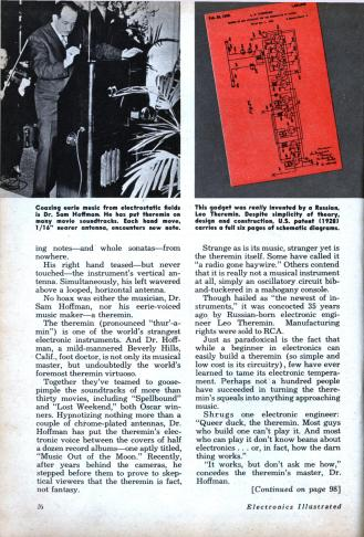 theremin_Electronics Illustrated Issue- Jun, 1960