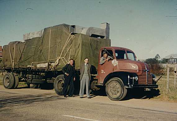 Portable computer: CSIRAC on the move to Melbourne, June 1955