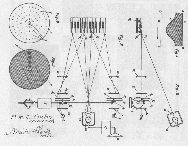 Pierre Toulon's Patent for the Cellulophone