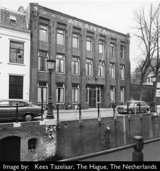 Institue of Sonology at The Atlas building at Plompetorengracht, Utrecht, NL
