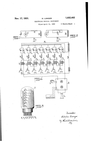 Langer's patent for the Emicon