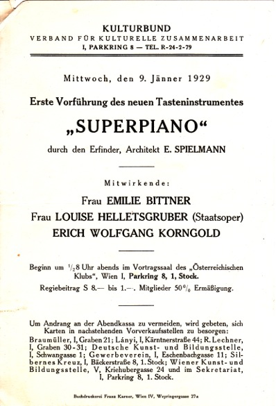first show of the superpiano 2