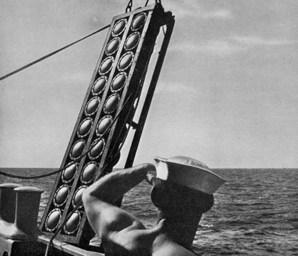 Kock's Sonar device during WW2