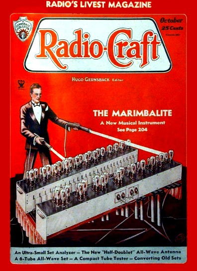 The Poto-Electric Marimba or Marimbalite