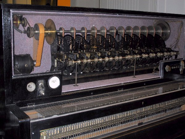 The last Superpiano at the Vienna Technical Museum, Austria