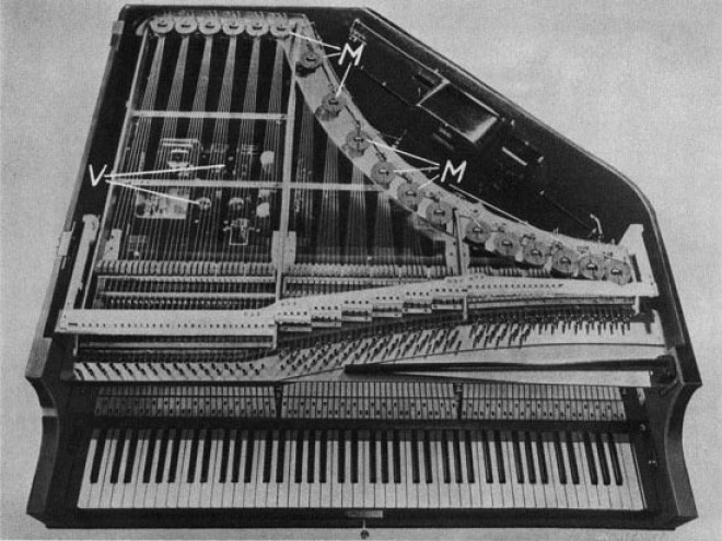 The Neo-Bechstien Electro-acoustic piano