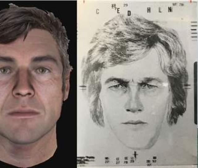 A Sketch Third From Right Shows What Police In  Believed April Tinsleys Killer Might Have Looked Like That Drawing Was Followed By Renderings Years