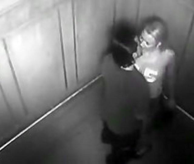 Security Camera Caught Exhibitionist Couple Fucking In Elevator