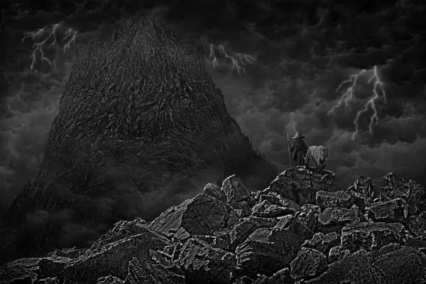 Risultati immagini per darkness mountain