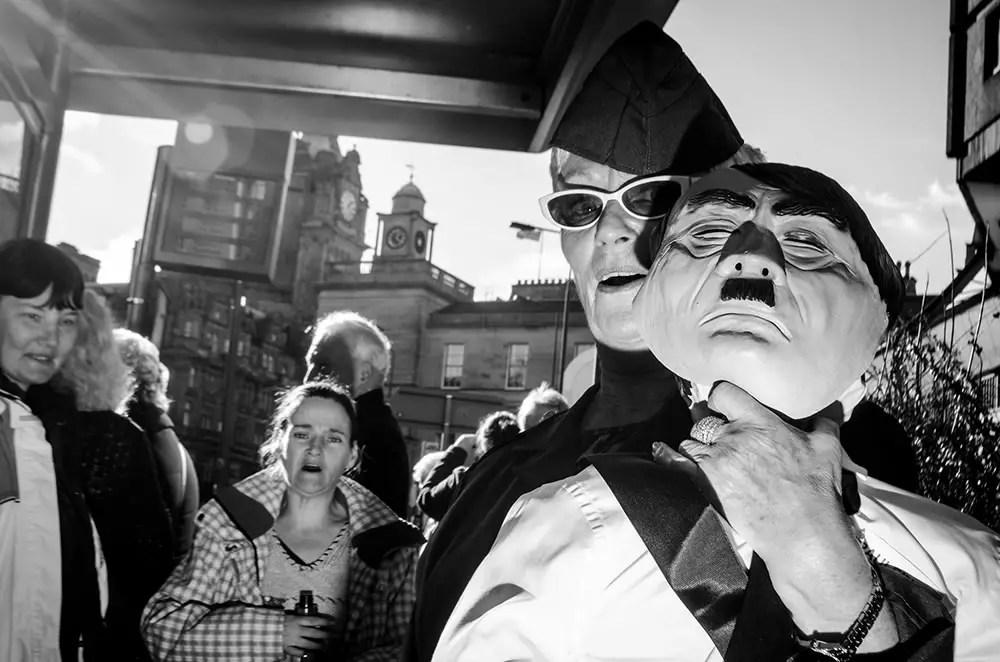 Flash Street Photography By Gareth Bragdon