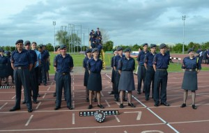 1220 Air Cadets at the end of the long day.