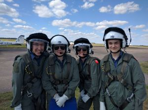 1220 cadets all ready to fly