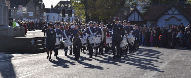 1220 Parading in March