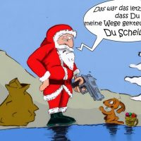Weihnachtsmann vs. Osterhase