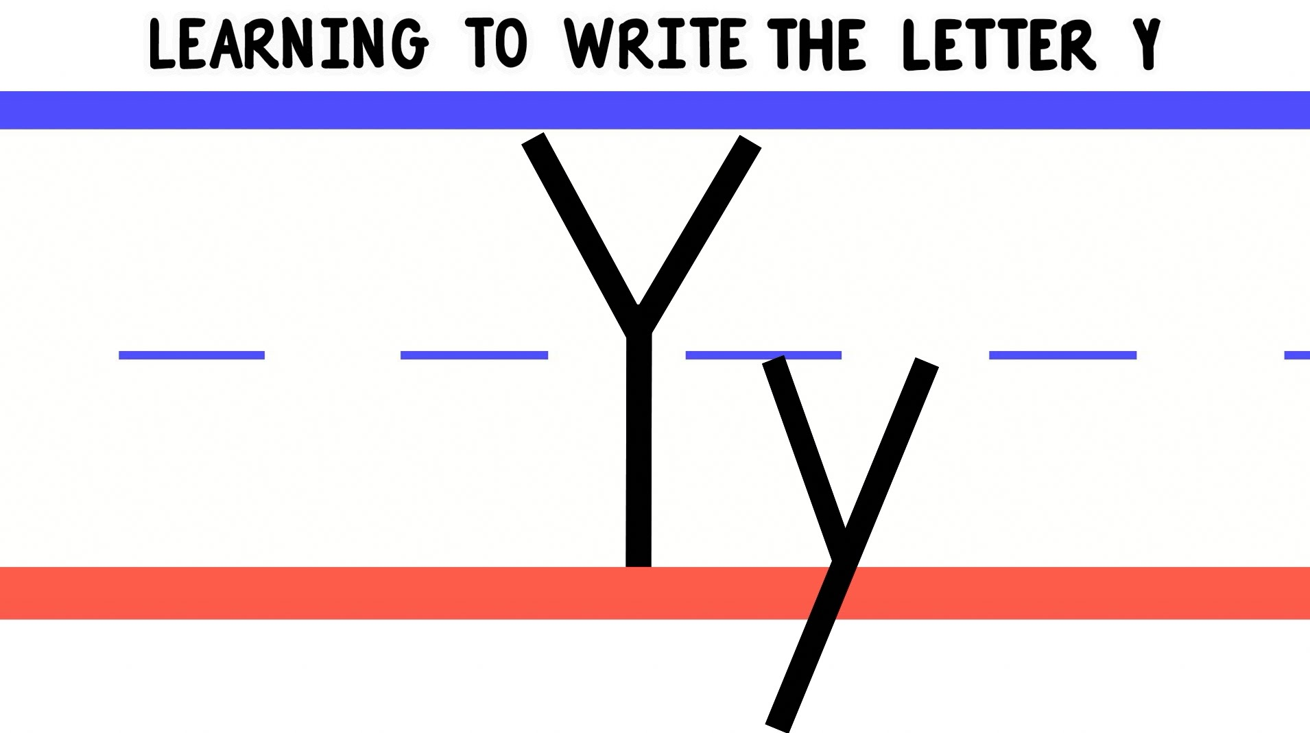 Write The Letter Y