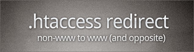 htaccess redirect non-www to www