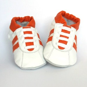 Sneaker White Orange