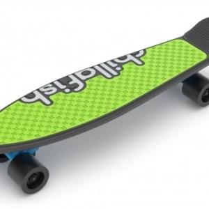 Chillafish skateboard Skatie junior 62 cm zwart