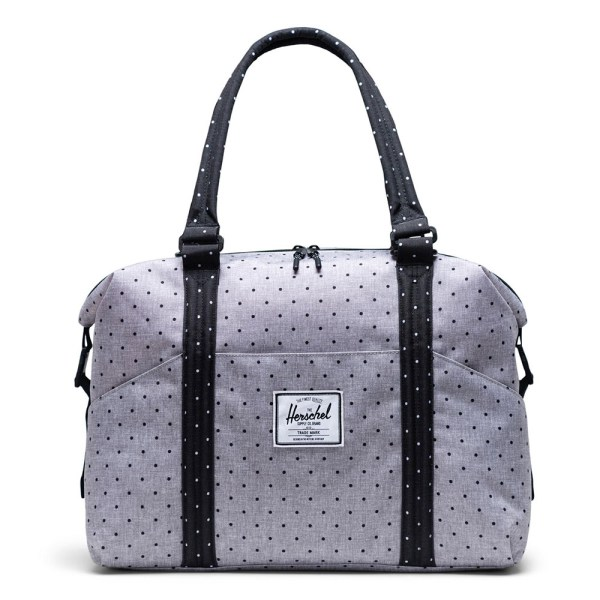 Herschel Strand Sprout Luiertas Polka Dot Crosshatch Grey/Black