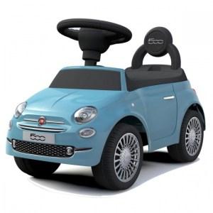 Happy Baby loopauto Fiat 500 junior blauw 61 cm
