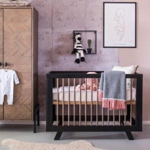 Coming Kids Harper Babykamer   Bed 60 x 120 cm + Commode + Kast 2-Deurs