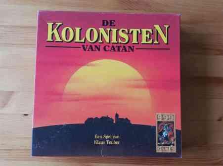 kolonisten van catan basisspel doos voorkant