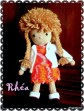 Rhéa, petite poupée au crochet