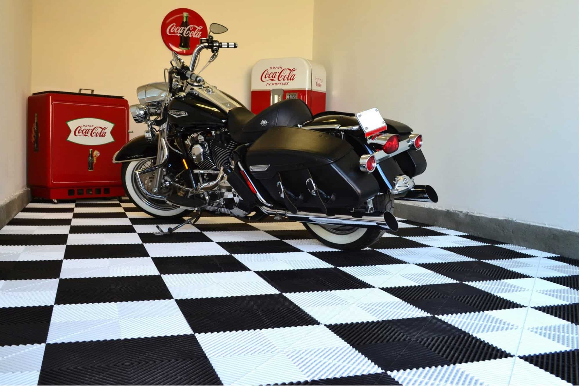 Dalle De Sol Pour Garage Harley Davidson Un Sol Pour