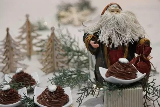 ganache chocolat noisettes