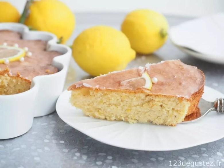 gateau sans gluten au citron